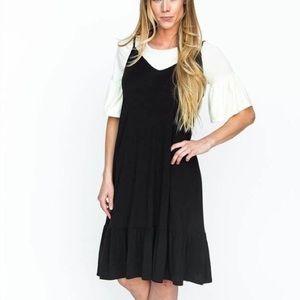 A&D Slip Dress Black